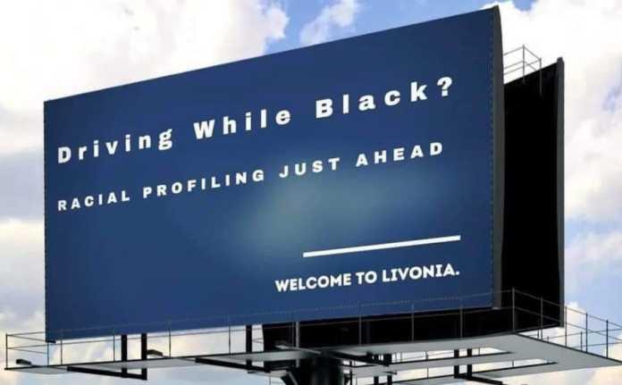 Livonia billboard