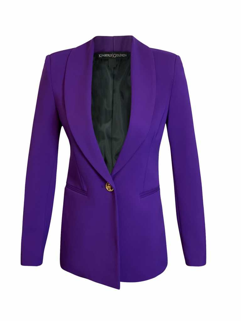 Kimberly Goldson Boyfriend jacket