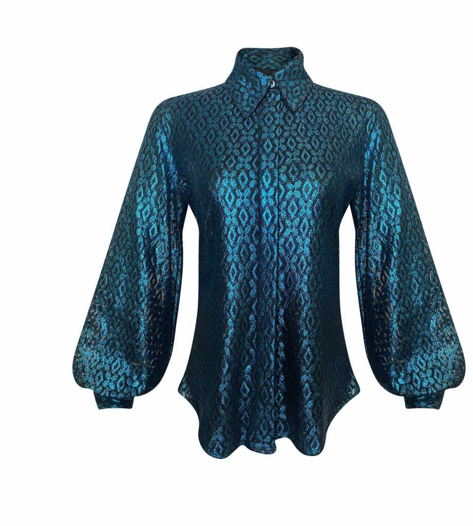 Kimberly Goldson Grace Lace Shirt