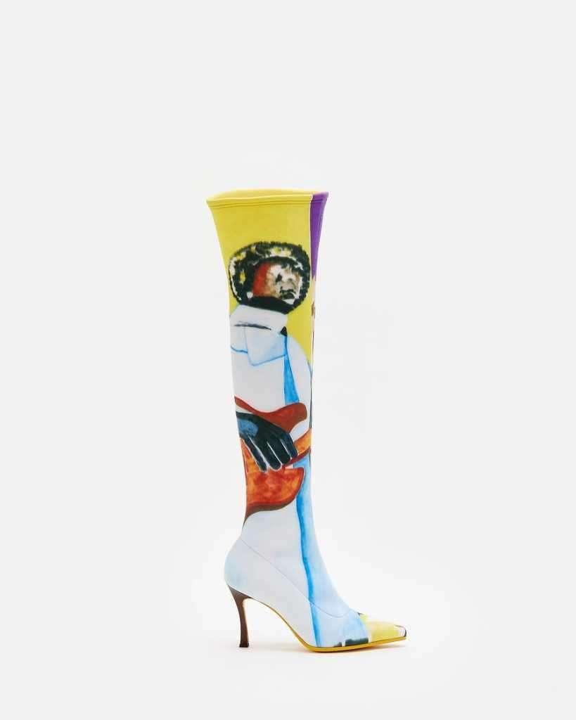 Pyer Moss tall mamba boots